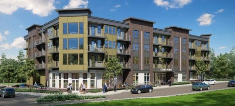 Osprey Point Apartments rendering